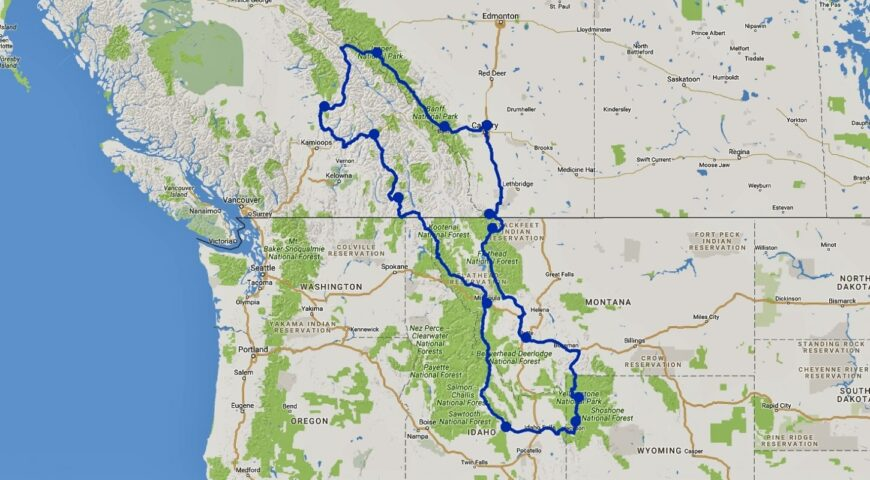 Map Best of the West - 21102