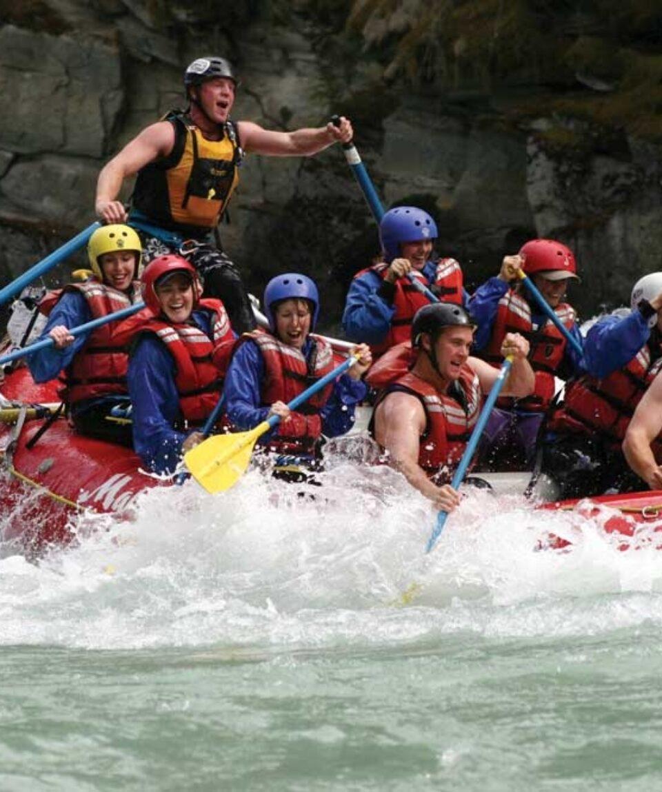 Jasper Rafting