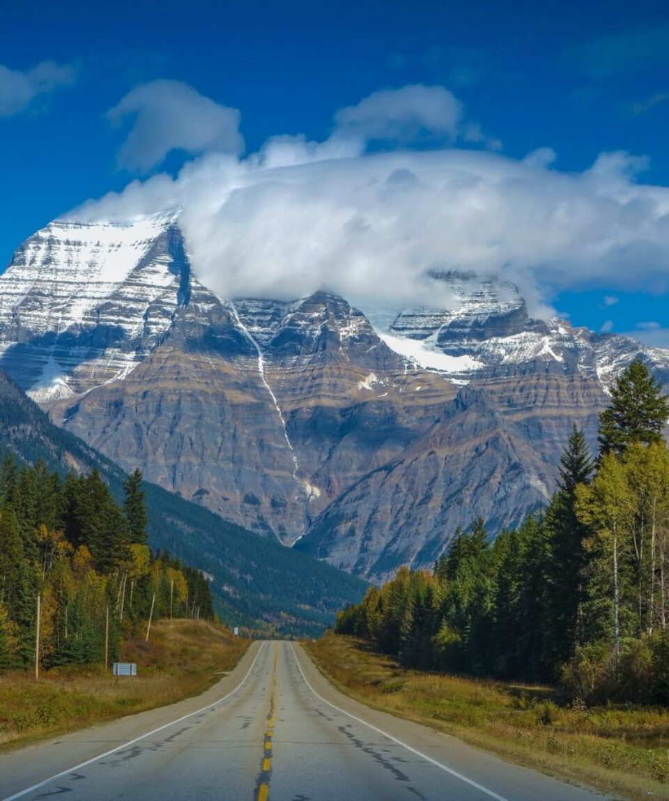 Road to Mount Robson