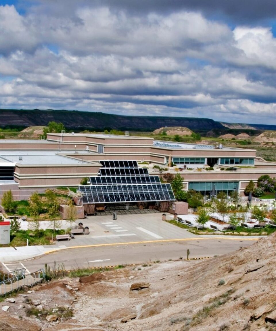 Royal Tyrrell Museum in Drumheller