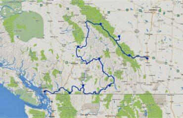 Map Western Peaks - 11107