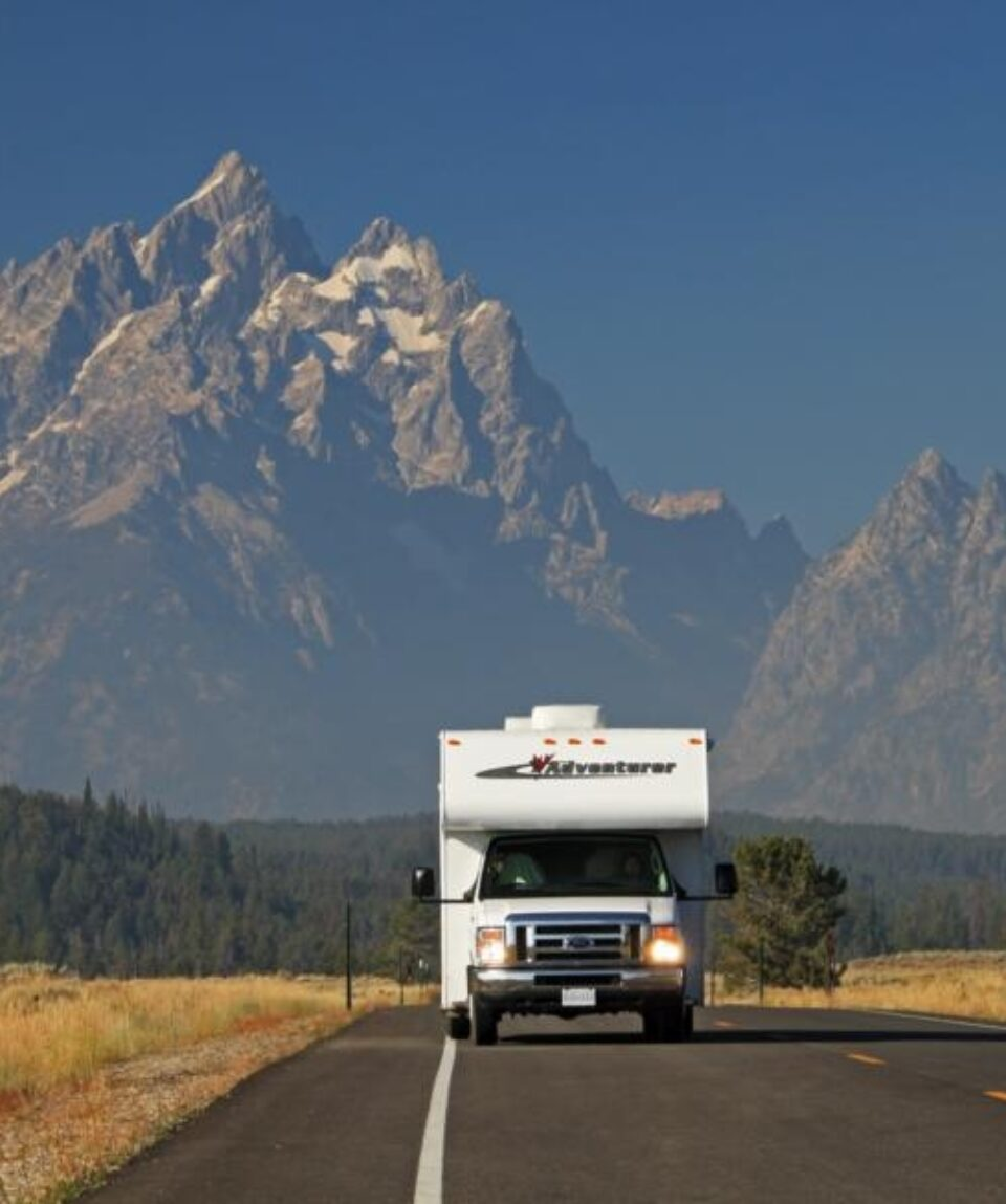 RV in Grand Teton National Park