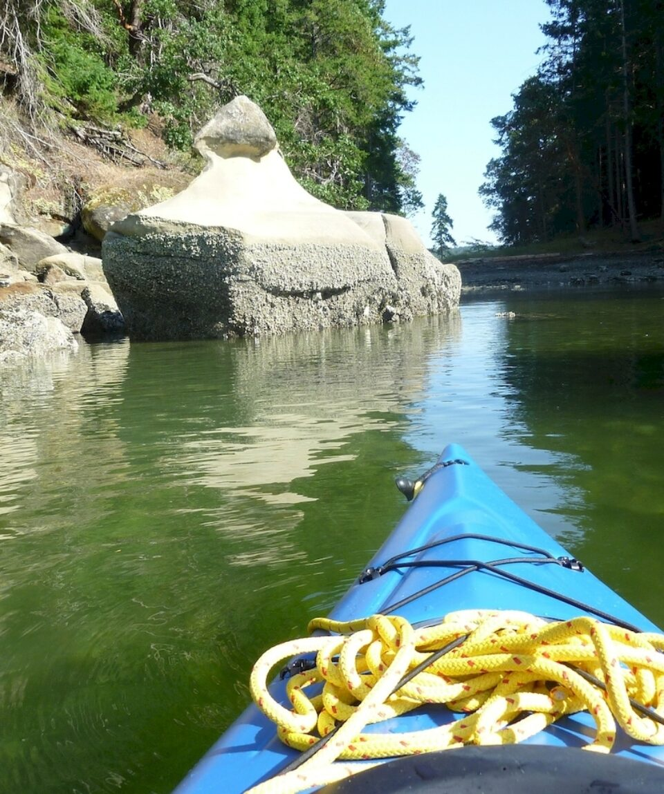 Kayak near Pirates Cove