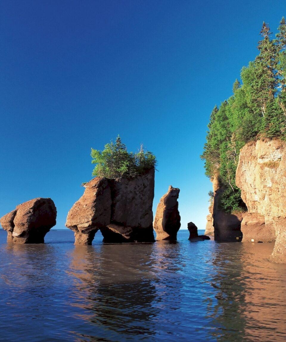 Bay of Fundy, Hopewell Rocks, New Brunswick