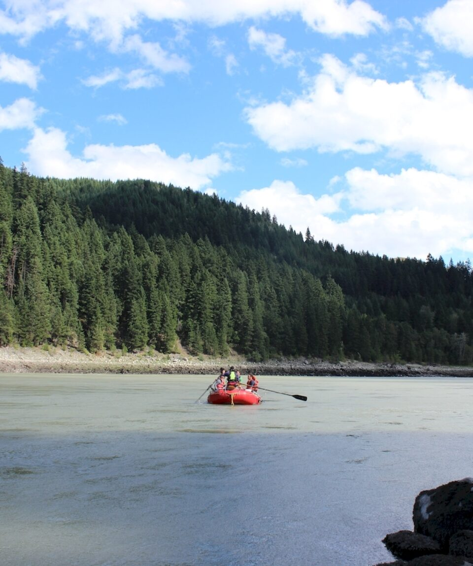 River float on Fraser River