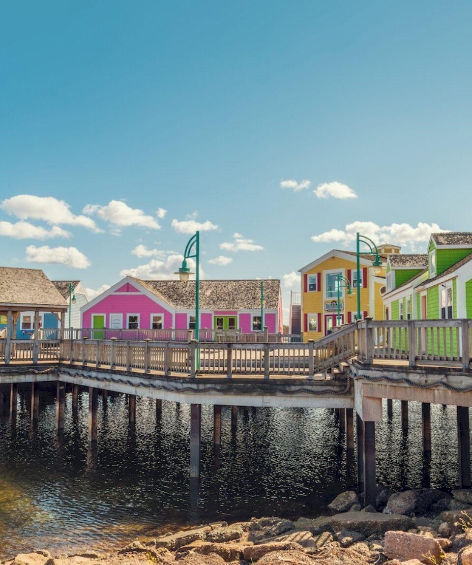 Summerside waterfront, Prince Edward Island